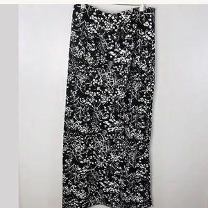 Diane Von Furstenberg DVF Size Large Midi Skirt